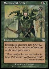 MTG 4x EXOSKELETAL ARMOR - Judgment *Top Enchant Pump*