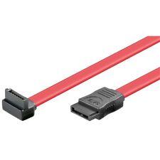 S-ATA-Daten-Kabel für Festplatten SATA-Stecker auf SATA-Stecker 90° 0,5m
