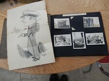 RFA SUDRA  PRE & WARTIME photo ALBUM Chinese death LEONG SOW China at Gibraltar