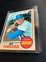 1968 Topps Set Break #492 Jeff Torborg EX-EXMINT *GMCARDS*