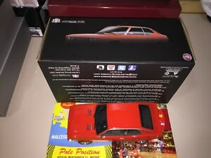 LM092 1:18 LAUDORACING  FIAT 128 COUPE 1300 SL RED  NOT PERFECT SHIPP. WORLDWIDE