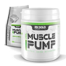 Pre-Workout MUSCLE PUMP 300g Powder Nitrix Oxide Energy Strenght Booster