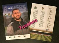 Blackburn Rovers v Leeds United VERY LIMITED Programme 4/7/20! FREE UK POSTAGE!!