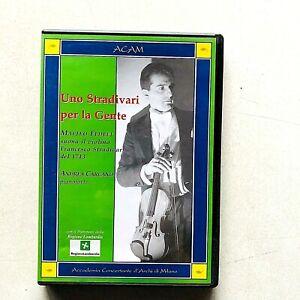 Uno Stradivari per la gente Matteo Fedeli Andrea Carcano DVD Concerto Milano