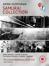 AKIRA KUROSAWA - Samurai Collection (4 FILM) BLU-RAY NUOVO Blu-Ray (bfib1200)