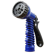 New Screw Fit Water Gun - 7 Spray Patterns - Connects Expanding Hose & XHose