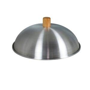 Dexam Wok Lid Aluminium 12-14 Inch