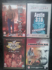 WWF Wrestlemania XV,Hell Yeah, Summerslam 99, Austin 3:16 Uncensored RARE WWE R0