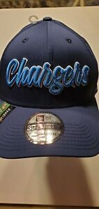 Los Angeles Chargers NFL New Era 39thirty Established 1960 stretch-fit hat M/L
