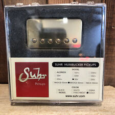 Suhr SSV Humbucker Guitar Pickup, Bridge Position, 50mm Spacing, Gold Cover