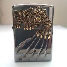 Zippo Claw BK Lighter Genuine Authentic Original Packing 6 Flints set Free GIFT