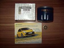 GENUINE RENAULT CLIO 3 1.5 DCI OIL FILTER - 8200768927