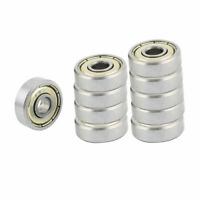 625ZZ 16 x 5mm Carbon Steel Groove Radial Ball Bearings Silver 10Pcs