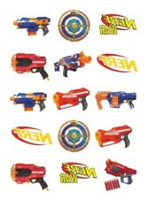1x Nerf Temporary TATTOO Sheet. Party Supplies Lolly Loot BAG Gun Game Cake
