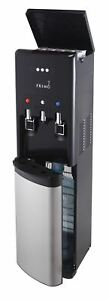 Primo hTRiO Bottom Loading Water Dispenser with Single Serve Brewing, Black/Stai