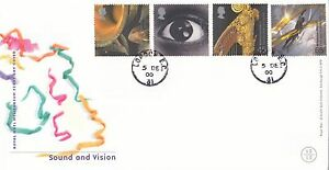(92561) CLEARANCE GB FDC Sound & Vision - London EC CDS 5 December 200