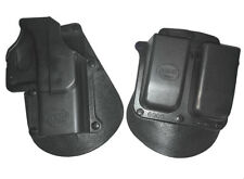 Fobus Standard GL2+6900 Mag Holder RH Paddle Holster for Glock Glock 19/17/22/