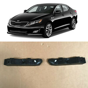 Front Bumper Retainer Brackets Support for 2011 2015 Kia Optima Left Right 2pcs