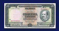 Mozambique  Banknotes 50 escudos 1958 P106 UNCIRCULATED