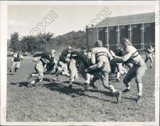 1939 Army Cadets First Football Practice of 1939 Season Jere Maupin Press Photo