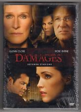 dvd DAMAGES SECONDA STAGIONE 2 Glenn CLOSE Rose BYRNE Contiene 3 DVD