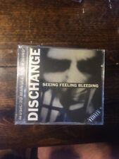 "Discharge ""Seeing Feeling Bleeding"" On Nuclear Blast America. Sealed. 1993. US."