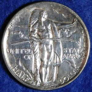1926-S 50c Oregon Trail Commemorative Silver Half Dollar