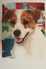 """Jack Russell Terrier with Christmas Presents, Dog Breed Garden Flag ~11""""x14"""""""