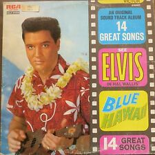 ELVIS PRESLEY-  blue hawaii OST - made in greece LP - RCLP 20065