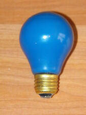 Old GE Original Colored Party Blue Christmas 25w VTG Light Bulb Lighting