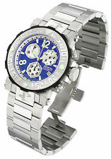 Swiss Made Invicta 6133 Reserve Sea Rover Chronograph Mens Watch with 3-Slot Box