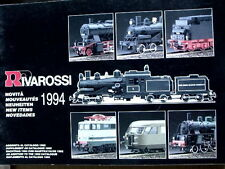Catalogo RIVAROSSI in scala HO 1994 novità - ITA ENG DEU FRA -  [TR.24]