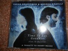 Sarah Brightman & Andrea Bocelli Time To Say Goodbuy