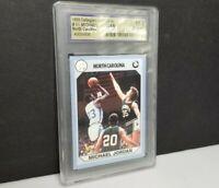 1990 North Carolina #61 Michael Jordan Collegiate Collection Gem Mint 10
