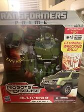 Transformers Prime Robots In Disguise Voyager Class Autobot Bulkhead NIB