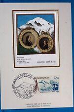 LE MONT BLANC A CHAMONIX   FRANCE CPA   Carte Postale Maximum  Yt  2422 C