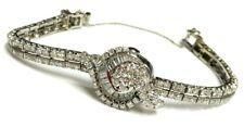 Hamilton Vintage Platinum Diamond Ladies Watch 32.1g