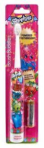 Shopkins Brush Buddies Powered Soft Toothbrush