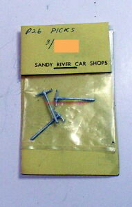 Sandy River Car Shops~#P26~1:48/O-Scale~Picks~On3/On30/On2~White Metal~OOP
