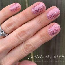 Color Street POSITIVELY PINK (Soft Glitter Breast Cancer Awareness October)