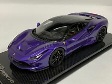 "1/18 MR Collection Ferrari F8 Tributo Coupe Violla "" Purple "" Hong Kong Carbon"