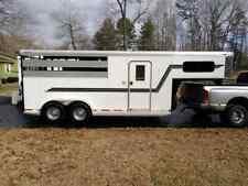 2009 Adams 3 horse slant. Pay deposit only, balance due at pickup. $9900 total