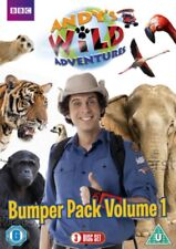 Andy's Wild Adventures Volume 1 Region 4 DVD New Andys 3 Disc Bumper Collection