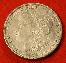 1879 MORGAN DOLLAR XF 90% SILVER LIBERTY COLLECTOR COIN CHECK OUT STORE MG250