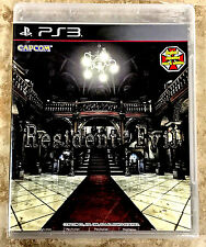**RARE BRAND NEW BLACK LABEL PS3  RESIDENT EVIL  HD REMASTER REMAKE ENGLISH*USA*