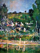 Mural Ceramic Landscape Backsplash Tile Cezanne #371