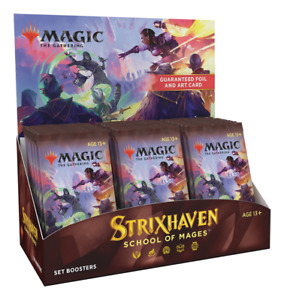 STRIXHAVEN Magic The Gathering SET BOOSTER BOX SEALED 30 Packs Ships 4/23