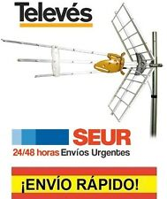 ANTENA TV TELEVES 149942 DAT BOSS UHF C21-60 TELEVISION FILTRO 4G LTE 46149942