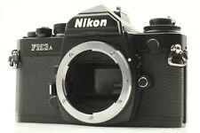 [ALMOST MINT] Nikon FM3A 35mm SLR Film Camera Body Black from JAPAN #G22