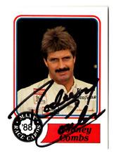 Rodney Combs original hand signed autographed MAXX '88 card